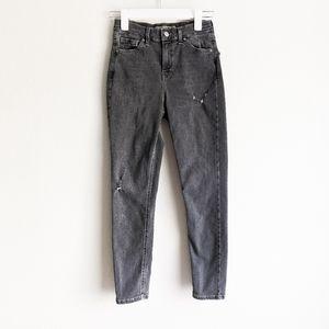 Topshop Moto Jamie Gray Skinny Jeans Size 26